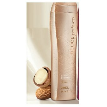 L'BEL – Délice oleo almendras crema corporal perfumada 200ml
