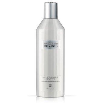 Unique – CBrillo de seda diamantes Loción perfumada hidratante 210g