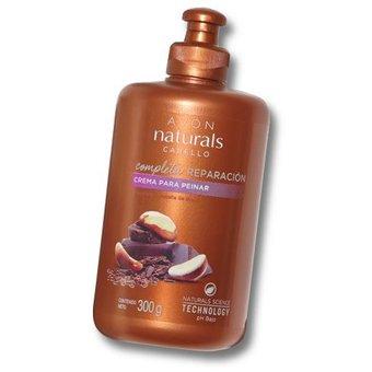 Avón – Naturals cabello, crema para peinar Chocolate y Castaña de Brasil 300g