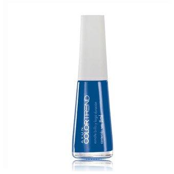 Avon – Colortrend esmalte brillo arga duracion azul 8ml