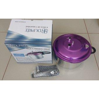 Duprée – Olla a presión violet 4L