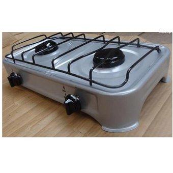 MYA – Cocina de mesa de 2 hornillas a gas