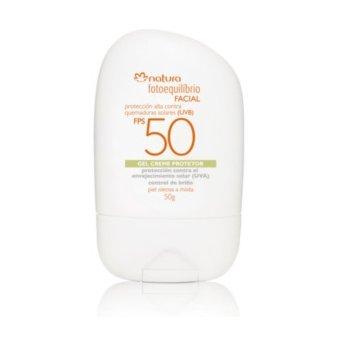 Natura – Fotoequilibrio facial protección contra quemaduras solares 50FPS 50g