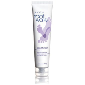 Avon – Mascarilla exfoliante para piernas y pies foot works 90g