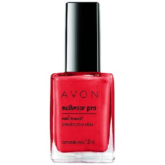 Avon – Esmalte De Uñas Nailwear Pro+ Real Red 12ml