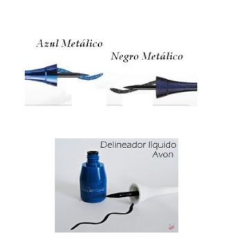 Avon – Colortrend Delineador Liquido Para Ojos Negro Metalico 3ml