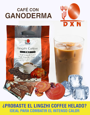Ganoderma – Cafe Lingzhi 3 En 1 De 20 Sticks X 21g