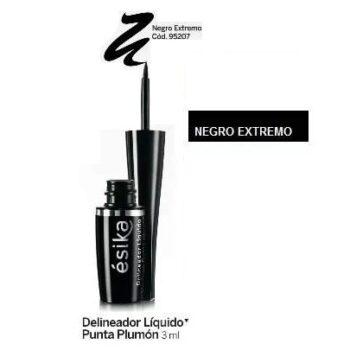 Esika – Delineador Liquido Para Ojos Plumón Negro Extremo 3ml